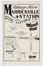 1885 Cottage & sites, Marrickville Stati