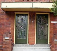 No 1 Keith Street Entrance Interwar Flat
