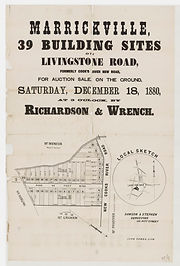 1880 Marrickville, 39 building sites on