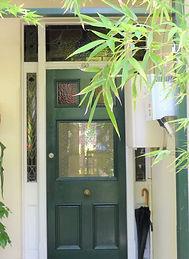 No 11 Terrace Road Front Door Sidelights