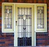 No 1 Hugh Avenue Verandah Door Panel and