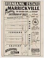 1886 Fernbank Estate, Marrickville, 1st