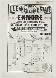 1909 Llewellin Estate, Llewellin Street,