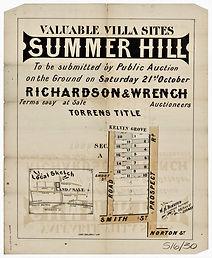 1882  Summer Hill - Kelvin Grove, Prospe