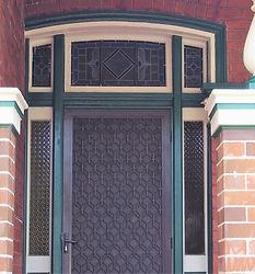 No 3 Canonbury Grove Front Door Fanlight