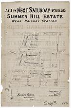 1892 Summer Hill Estate Fleet Street, Ed