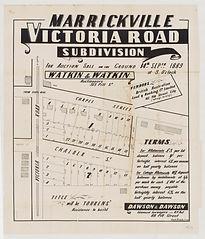 1889 Victoria Road subdivision, Marrickv