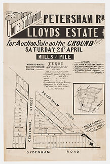 1888 Lloyds Estate, Petersham Rd - Syden