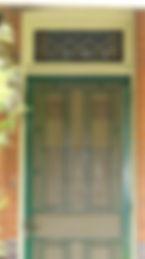 No 1 Jesmond Avenue Front Door panels an