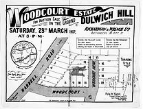 1907 Woodcourt Estate Dulwhich Hille War