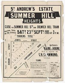 1905  St Andrew's Estate - Summer Hill H