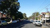 Premier Street towards Carrington Street