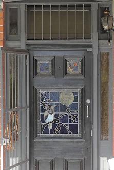 No 18 Harney Street Front Door Panels.jp