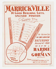 1900 Marrickville, 14 good building Lots