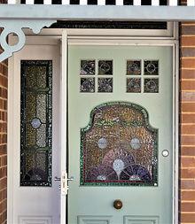 No 4 Drynan Street Front Door panels and