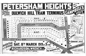 1919 Campbell's Estate Petersham Heights