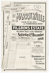 1908 Marrickville, Pilgrims Estate - Ill