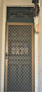 No 3 Gladstone Street Front Door Panels