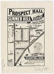 1880 Prospect Hall - Summer Hill Estate
