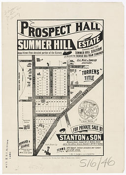 1906 Prospect Hall - Summer Hill Estate