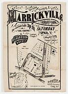 1882 Splendid building sites, Marrickvil
