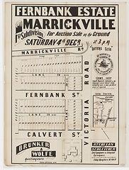 1897 Fernbank Estate, Marrickville, 1st