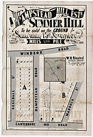 1884 Hamstead Hill Estate Old Canterbury