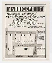 1891 Marrickville overlooking The Warren
