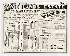 1891 Woodlands Estate, Marrickville - Ca