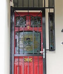 No 4 Hampstead Road Front Door Panel and