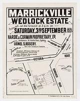 1921 Wedlock Estate Marrickville - Smith
