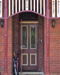 No 3 Garnett Street Front Door Panels &