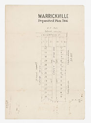 1882 Marrickville, deposited plan 766 -