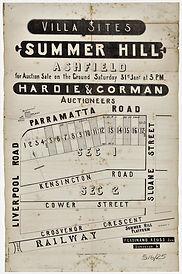 1880 Summer Hill - Ashfield - Parramatta