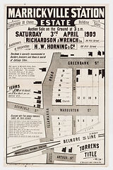 1909 Marrickville Station Estate - Arthu