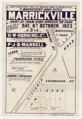 1923 7 magnificent shop sites, Marrickvi