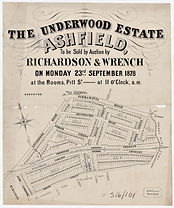 1878 The Underwood Estate - Ashfield - L