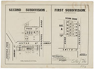 1882 Second Subdivision - First Subdivis