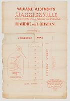 1879 Valuable allotments, Marrickville -