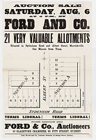 1887 21 very valuable allotments, Marric