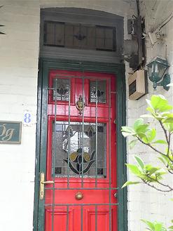 No 8 Gorman Street Front Door Panel and