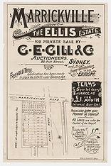 1902 (c.) Marrickville, The Ellis Estate