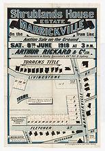 1918 Shrublands House Estate, Marrickvil
