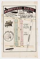 1880 Marrickville Railway near Tram Stat