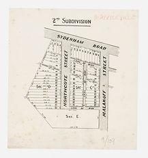 1903 (c.) Plan Marrickville area] - Mala