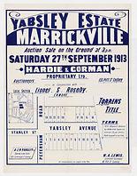 1913 Yabsley Estate, Marrickville - Pete