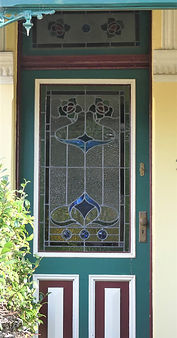 No 32 Cary Street Front Door Panel and F