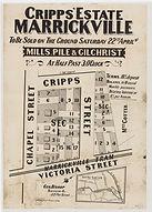 1882 Cripps' Estate, Marrickville - Crip