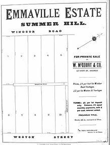 1885 Emmaville Estate Summer Hill Windso