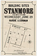 1881 - Building sites, Stanmore - Agar S